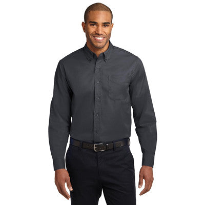 Port Authority Easy Care Tall Long Sleeve Shirt - EZ Corporate Clothing  - 7
