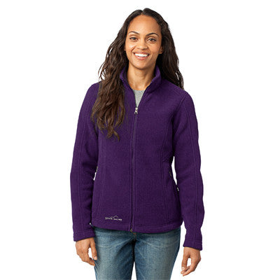 Eddie Bauer Ladies Full-Zip Fleece Jacket - EZ Corporate Clothing  - 3
