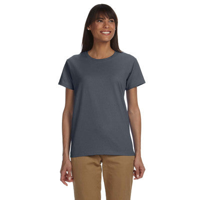 Gildan Ladies Ultra Cotton T-Shirt with Embroidery - EZ Corporate Clothing  - 5