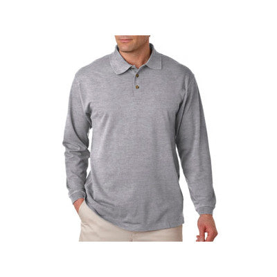 UltraClub Long-Sleeve Classic Pique Polo - EZ Corporate Clothing  - 6