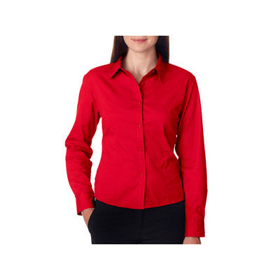 UltraClub Ladies Whisper Twill Shirt - EZ Corporate Clothing  - 6