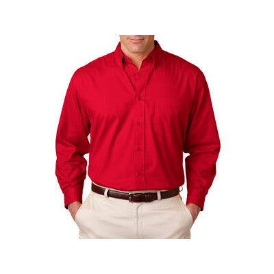 UltraClub Mens Whisper Twill Shirt - EZ Corporate Clothing  - 7