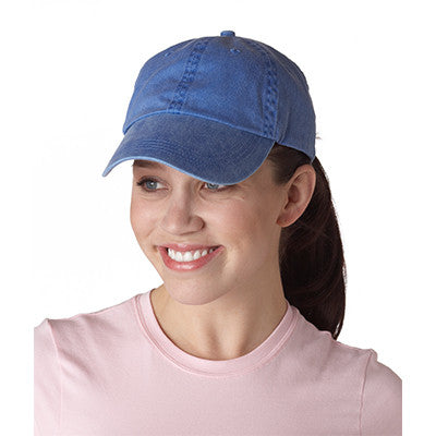Anvil Classic Solid Pigment-Dyed Twill Cap - EZ Corporate Clothing  - 4
