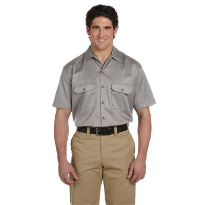 Dickies Mens 5.2oz Work Shirt - EZ Corporate Clothing  - 3