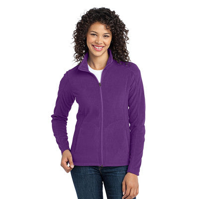 Port Authority Ladies MicroFleece Jacket - EZ Corporate Clothing  - 2