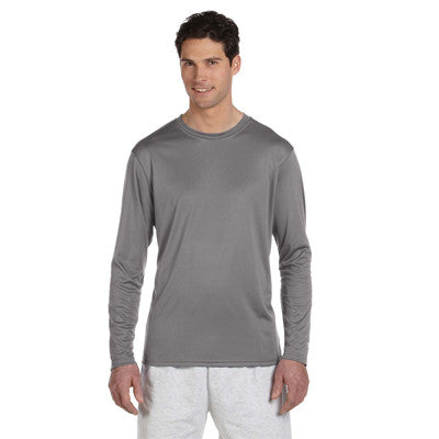Champion Adult Double Dry Long-Sleeve Interlock T-Shirt - EZ Corporate Clothing  - 7