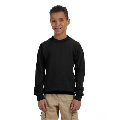 Gildan Youth Heavyweight Blend Crewneck - EZ Corporate Clothing  - 2