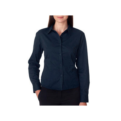 UltraClub Ladies Whisper Twill Shirt - EZ Corporate Clothing  - 5