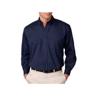 UltraClub Mens Whisper Twill Shirt - EZ Corporate Clothing  - 6