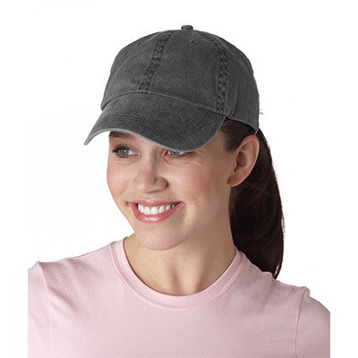 Anvil Classic Solid Pigment-Dyed Twill Cap - EZ Corporate Clothing  - 3