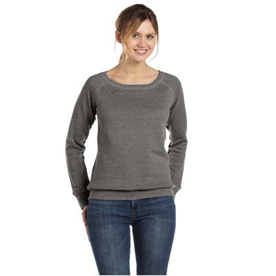 Bella Ladies 8.2Oz. Triblend Slouchy Wide Neck Fleece - EZ Corporate Clothing  - 7
