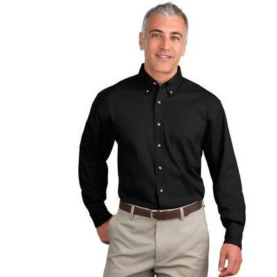 Port Authoriy Twill Shirt - Longsleeve - EZ Corporate Clothing  - 2