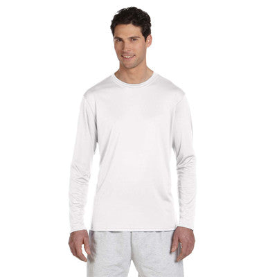 Champion Adult Double Dry Long-Sleeve Interlock T-Shirt - EZ Corporate Clothing  - 6