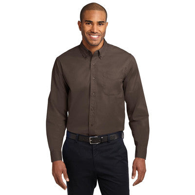 Port Authority Easy Care Tall Long Sleeve Shirt - EZ Corporate Clothing  - 9