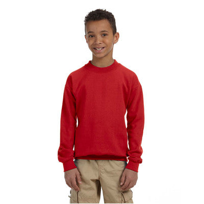 Gildan Youth Heavyweight Blend Crewneck - EZ Corporate Clothing  - 5