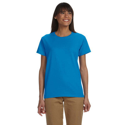 Gildan Ladies Ultra Cotton T-Shirt with Embroidery - EZ Corporate Clothing  - 10