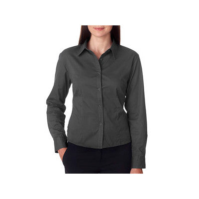 UltraClub Ladies Whisper Twill Shirt - EZ Corporate Clothing  - 4