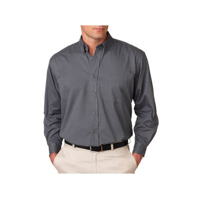 UltraClub Mens Whisper Twill Shirt - EZ Corporate Clothing  - 5