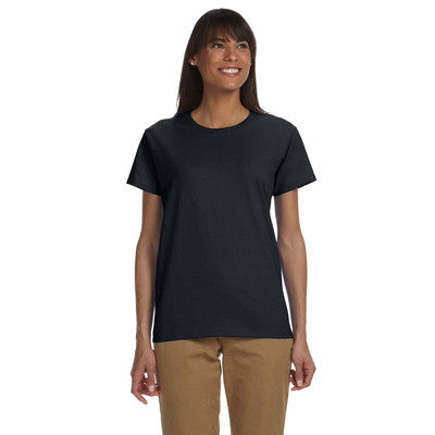 Gildan Ladies Ultra Cotton T-Shirt with Embroidery - EZ Corporate Clothing  - 4