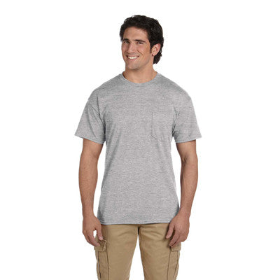 Gildan Adult DryBlend T-Shirt with Pocket - EZ Corporate Clothing  - 5