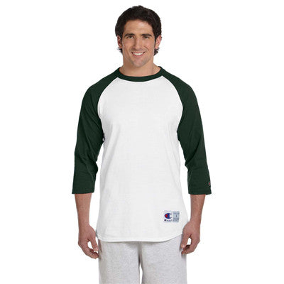 Champion 6.1oz. Tagless Raglan Baseball T-Shirt - EZ Corporate Clothing  - 12