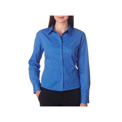 UltraClub Ladies Whisper Twill Shirt - EZ Corporate Clothing  - 3
