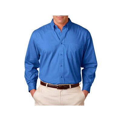 UltraClub Mens Whisper Twill Shirt - EZ Corporate Clothing  - 4