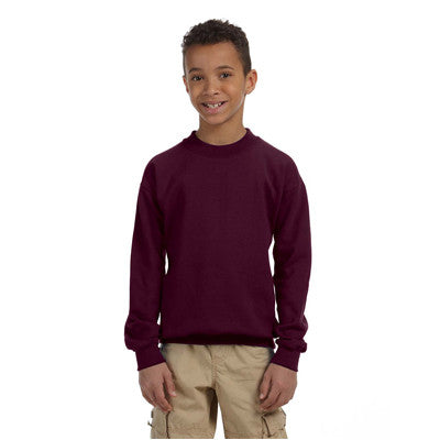 Gildan Youth Heavyweight Blend Crewneck - EZ Corporate Clothing  - 6