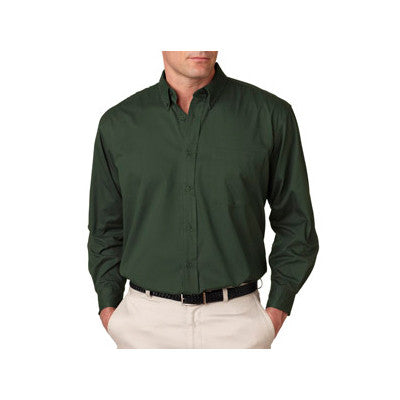 UltraClub Mens Whisper Twill Shirt - EZ Corporate Clothing  - 3