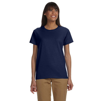 Gildan Ladies Ultra Cotton T-Shirt with Embroidery - EZ Corporate Clothing  - 8