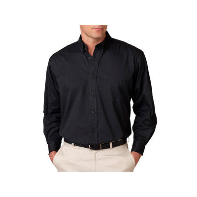 UltraClub Mens Whisper Twill Shirt - EZ Corporate Clothing  - 2