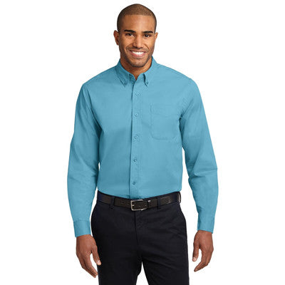 Port Authority Easy Care Tall Long Sleeve Shirt - EZ Corporate Clothing  - 17