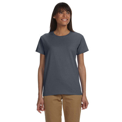 Gildan Ladies Ultra Cotton T-Shirt with Embroidery - EZ Corporate Clothing  - 12