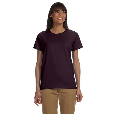 Gildan Ladies Ultra Cotton T-Shirt with Embroidery - EZ Corporate Clothing  - 19