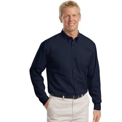 Port Authority Easy Care Tall Long Sleeve Shirt - EZ Corporate Clothing  - 19