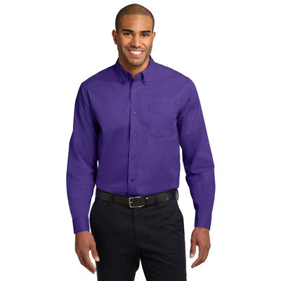 Port Authority Easy Care Tall Long Sleeve Shirt - EZ Corporate Clothing  - 20