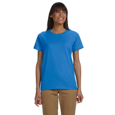 Gildan Ladies Ultra Cotton T-Shirt with Embroidery - EZ Corporate Clothing  - 15