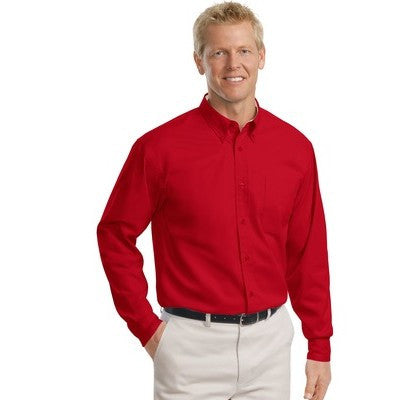 Port Authority Easy Care Tall Long Sleeve Shirt - EZ Corporate Clothing  - 21