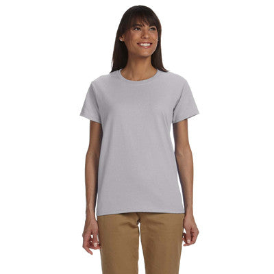 Gildan Ladies Ultra Cotton T-Shirt with Embroidery - EZ Corporate Clothing  - 6