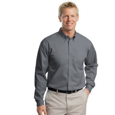 Port Authority Easy Care Tall Long Sleeve Shirt - EZ Corporate Clothing  - 23