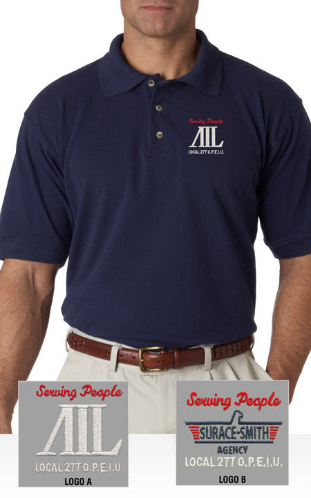 Bayside Pique Polo - AIL - EZ Corporate Clothing  - 1