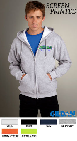 Gildan Adult DryBlend Full-Zip Hooded Sweatshirt - EZ Corporate Clothing  - 2
