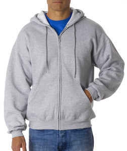 Gildan Ultra Blend Full-Zip Hooded Sweatshirt - EZ Corporate Clothing  - 6