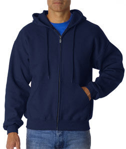 Gildan Ultra Blend Full-Zip Hooded Sweatshirt - EZ Corporate Clothing  - 3
