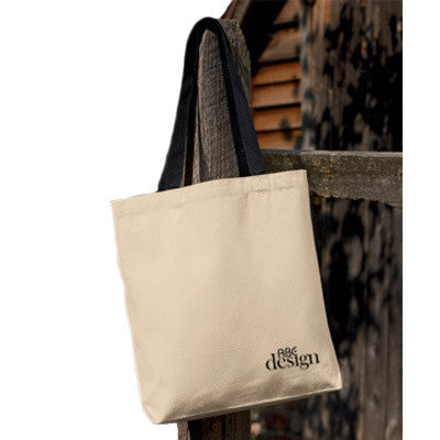UltraClub Tote with Gusset and Contrasting Handles - EZ Corporate Clothing  - 1