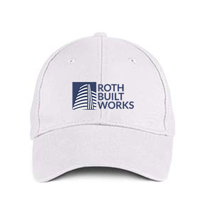 Embroidered Fitted Hats - Custom Business and Promotional