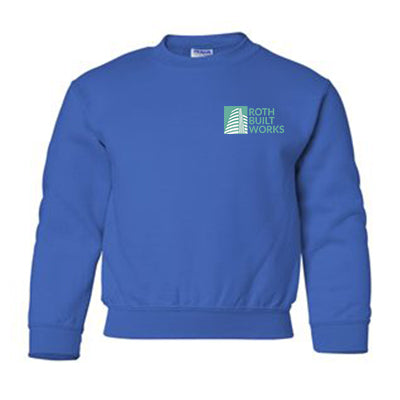 Gildan Youth Heavy Blend Fleece Crewneck Sweatshirt