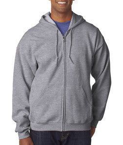Gildan Adult Heavy Blend Full-Zip Hooded Sweatshirt - EZ Corporate Clothing  - 20