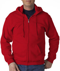 Gildan Adult Heavy Blend Full-Zip Hooded Sweatshirt - EZ Corporate Clothing  - 16