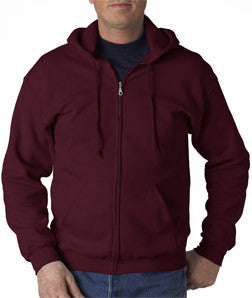 Gildan Adult Heavy Blend Full-Zip Hooded Sweatshirt - EZ Corporate Clothing  - 12
